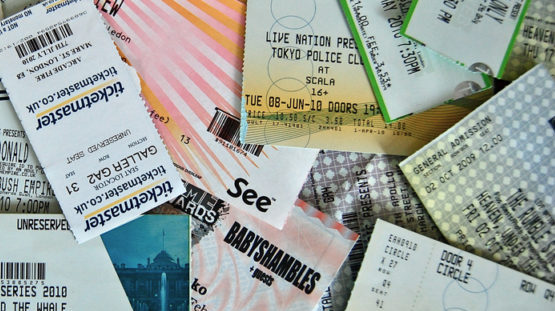 Event Tickets, Show Tickets